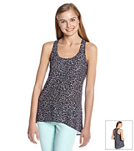 Eyeshadow® Juniors' Cheetah Print Woven Tank