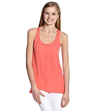 Eyeshadow® Juniors' Solid Woven Tank