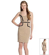 XOXO® Juniors' Piped Sheath Dress