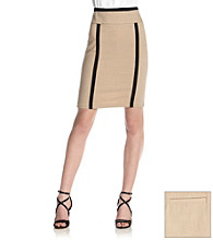 XOXO® Juniors' Piped Pencil Skirt