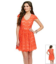 Kensie® Floral Lace Dress