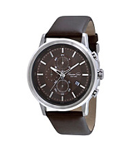 Kenneth Cole New York® Men's Brown Chronograph Watch