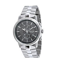 Kenneth Cole New York® Men's Grey/Gunmetal Chronograph Stainless Steel Watch