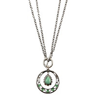 Nine West Vintage America Collection® Seafoam Green Convertible Short to Long Pendant