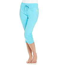 Sleep Riot™ Aqua Knit Capris
