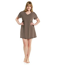 Jockey® Plus Size V-Neck Sleepshirt