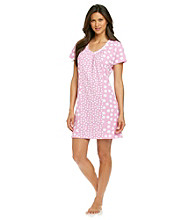 Jockey® Pink Combo Dot Knit Sleepshirt
