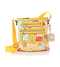 Tyler Rodan™ Water Floral Yellow Burke Crossbody