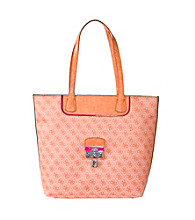 Guess Orange Hewitt Small Carryall