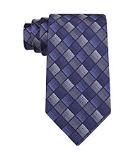John Bartlett Statements Men's Blue Parquet Geo Tie