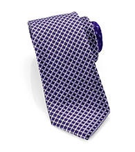 Perry Ellis Portfolio® Men's Purple Positano Micro Tie