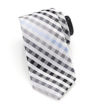 Perry Ellis Portfolio® Men's Black Luce Plaid Tie