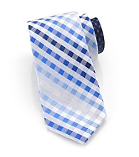 Perry Ellis Portfolio® Men's Navy Luce Plaid Tie