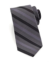 Perry Ellis Portfolio® Men's Black Cuma Stripe Tie