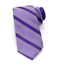 Perry Ellis Portfolio® Men's Purple Cuma Stripe Tie