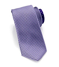 Perry Ellis Portfolio® Men Purple Grotto Mini Tie