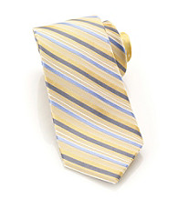 Perry Ellis Portfolio® Men's Yellow Campania Stripe Tie