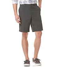 Perry Ellis® Men's Keystone Solid Cotton Flat Front Short