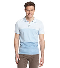 Calvin Klein Men's Marine Blue Short Sleeve Engineered Interlock Polo