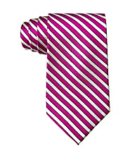 Izod® Men's Striped Silk Tie