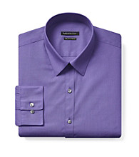 Van Heusen® Men's Plum Long Sleeve Dress Shirt