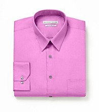 Geoffrey Beene® Men's Bright Rose Long Sleeve Solid Dress Shirt