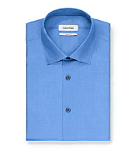 Calvin Klein Men's Cobalt Long Sleeve Dress Shirt
