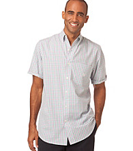 Chaps® Men's Bogue Island Short Sleeve Gingham Woven