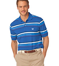 Chaps® Men's Short Sleeve Island Multi Stripe Polo