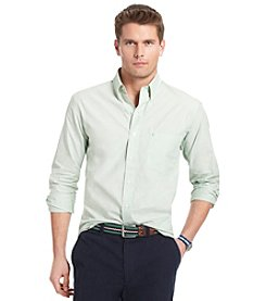 Izod® Men's Seacrest Long Sleeve Solid Button Down
