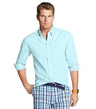 Izod® Men's Blue Radiance Long Sleeve Button Down