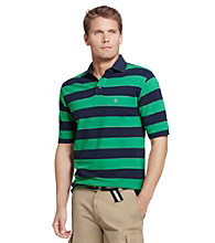 Izod® Men's Pique Rugby Stripe Polo