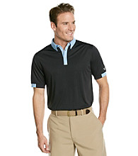 Callaway® Men's Caviar Solid Cuffed Polo