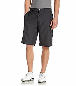 Callaway® Men's Anthracite Flat Front Cargo Tech Shorts
