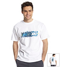 Nike® Men's White Blocks Tee