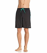 Nike® Men's Atomic Teal Palm Break Splice Swim Short