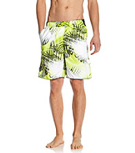 Nike® Men's Cyber Green Palm Break Swim Short