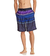 Speedo® Men's Prism Violet Horizon Ombre E-Board Shorts
