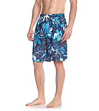 Speedo® Men's Caneel Bay Weathered Floral Volley Short