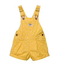 OshKosh B'Gosh® Baby Girls' Yellow Polka-Dot Shortall