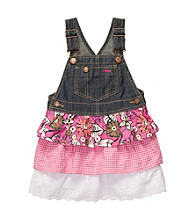 OshKosh B'Gosh® Baby Girls' Pink Floral Tiered Jumper