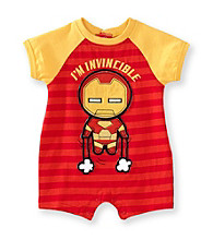 Nannette® Baby Boys' Red Iron Man Romper