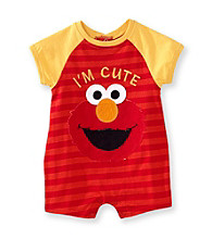 Nannette® Baby Boys' Red Elmo Romper