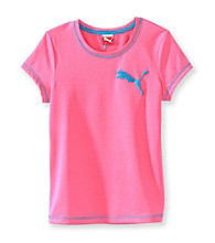 PUMA® Girls' 7-16 Pink Active Tee