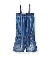 Squeeze® Girls' 4-14 Denim Romper