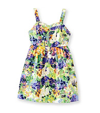 Jessica Simpson Girls' 7-16 Aida Paradise Floral Dress