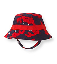 Carter's® Baby Boys' Navy/Red Crab Swim Hat