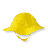 Carter's® Baby Girls' Yellow Poplin Sunhat
