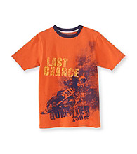 Ruff Hewn Boys' 8-20 Orange Jewel Short Sleeve