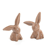 Hammond's Candies® Set of 2 Solid Large Chocolate Bunnies